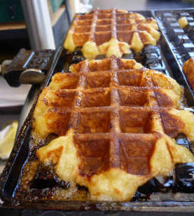 Recettes Desserts Gaufre Liégeoise à La Cannelle La Vraie