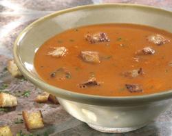 Recettes potages et soupes potage de courgettes la tomate - Potage a la tomate maison ...