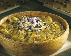 recettes potages et soupes potage de lentilles aux jeunes pousses. Black Bedroom Furniture Sets. Home Design Ideas