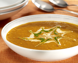 recettes potages et soupes potage au potiron et fromage au poivre. Black Bedroom Furniture Sets. Home Design Ideas