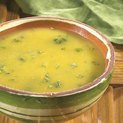 recettes potages et soupes soupe de potiron au c leri rave. Black Bedroom Furniture Sets. Home Design Ideas