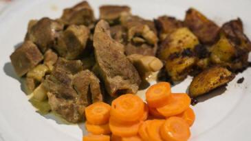 Recettes plat principal carbonnade de porc au vinaigre carolo - Carbonade de porc grillee ...