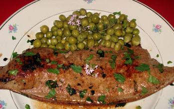Recettes plat principal foie de veau po l simple - Recette foie de veau poele ...