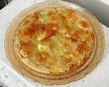 Recettes pot es et plats uniques tourte aux pommes de terre lardons et b chamel - Plat avec bechamel ...