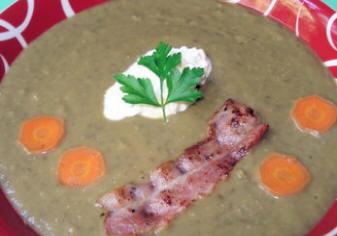 recettes potages et soupes velout de lentilles vertes. Black Bedroom Furniture Sets. Home Design Ideas